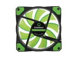 Вентилятор для корпуса GAMEMAX 120 мм зеленая подсветка (GMX-GF12G)