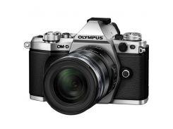 Фотоаппарат OLYMPUS OM-D E-M5 mark II 12-50mm ED Silver/Black (V207042SE000)