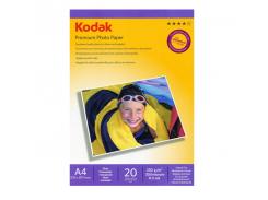 Бумага KODAK глянц. 230г/м, A4, 20л. карт.уп.