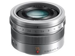 Объектив Panasonic Micro 4/3 Lens 15 mm f/1.7 Silver (H-X015E-S)