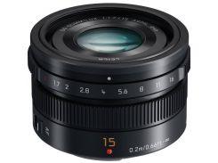 Объектив Panasonic Micro 4/3 Lens 15 mm f/1.7 Black (H-X015E-K)