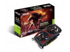 Видеокарта ASUS GeForce GTX1050TI 4GB DDR5 OC CERBERUS (CERBERUS-GTX1050TI-A4G)
