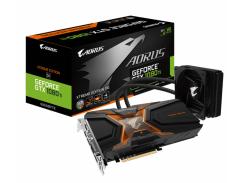 Видеокарта GIGABYTE GeForce GTX 1080 Ti 11GB DDR5X Xtreme Edition Waterforce (GV-N108TAORUSXW-11GD)