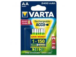 Аккумулятор VARTA AA 2400mAh NI-MH 2 шт.(READY 2 USE)