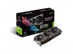Видеокарта ASUS GeForce GTX 1080 8GB GDDR5X Gaming Strix ROG A (STRIX-GTX1080-A8G-GAMING)