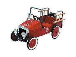 Веломобиль goki Пожарная машина (14069)