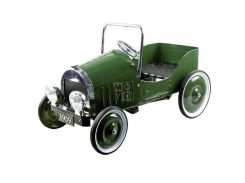 Веломобиль goki Ретро 1939 Зеленый (14073)