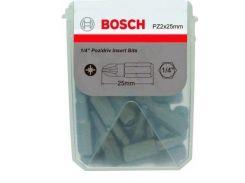 Набор бит Bosch Extra-Hart PZ2, 25мм