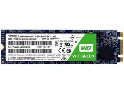 SSD накопитель WD Green 120GB M.2 2280 SATAIII (WDS120G2G0B)
