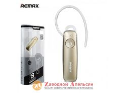 Гарнитура bluetooth Remax T8 Gold multipoint