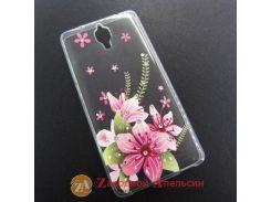 Xiaomi Mi4 чехол накладка стразы KMT