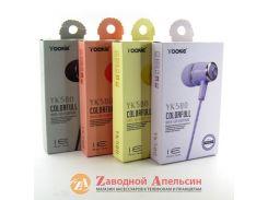 Гарнитура наушники Yookie YK580 аромат