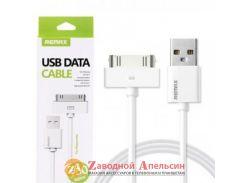 USB 2.0 кабель Remax iPad iPod 30pin Ipod 1м