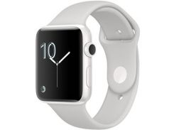 Apple Watch Series 2 38mm White Ceramic Case With Cloud Sport Band (MNPF2)