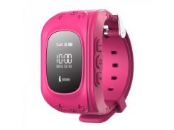 Smart Baby Q50 GPS Smart Tracking Watch Pink