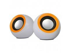 OMEGA 2.0 OG-116B white orange 2x3W RMS
