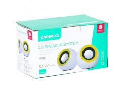 OMEGA 2.0 OG-116B white green 2x3W RMS