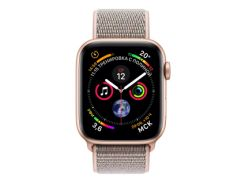 Apple Watch Series 4 GPS 40mm Gold Aluminum Case with Pink Sand Sport Loop (MU692)