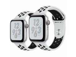 Apple Watch Series 4 Nike+ 44mm GPS Silver Aluminum Case Pure Platinum/Black Nike Sport Band (MTXK2)