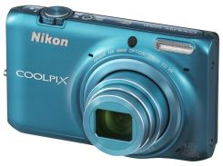 Nikon Coolpix S6500 Blue