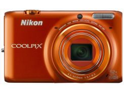 Nikon Coolpix S6500 Orange