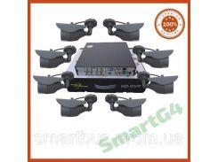 Комплект видеонаблюдения на 8 камер, Комплект наблюдения на восемь уличных камер, уличная камера 800ТВЛ