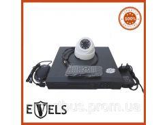 Комплект Видеонаблюдения Купольный на 1 камеру