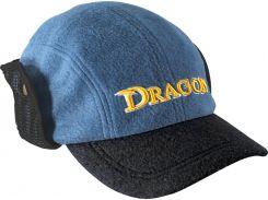 Кепка Dragon теплая с отворотом Синяя (TCH-90-097-01)
