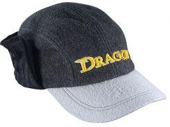 Кепка Dragon теплая с отворотом Серая (TCH-90-097-02)
