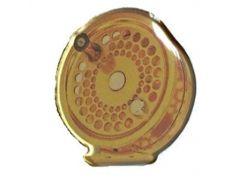 Значок Balzer с логотипом нахлыстовой катушки