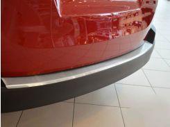 Накладка на бампер с загибом Fiat Doblo II Maxi 2010- NataNiko Premium