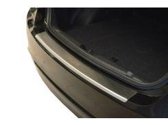 Накладка на бампер с загибом Chevrolet Cruze (2009+) Sedan нерж. NataNiko