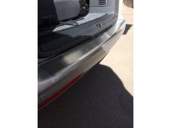 Накладка на бампер с загибом Chevrolet Cruze SW 2011- нерж. NataNiko