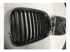 Ноздри в решетку радиатора BMW 5 серия E-39 1996-2003 (ABS-пластик, 2 шт)