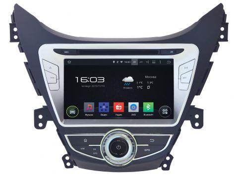 """Автомагнитола штатная Incar AHR-2464 Hyundai Elantra 2014-2015 8"""" (Android 4.4.4) Киев"""