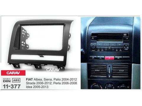 Рамка переходная Carav 11-377 Fiat Albea, Siena, Palio 04-12, Idea 05-13 2DIN Киев