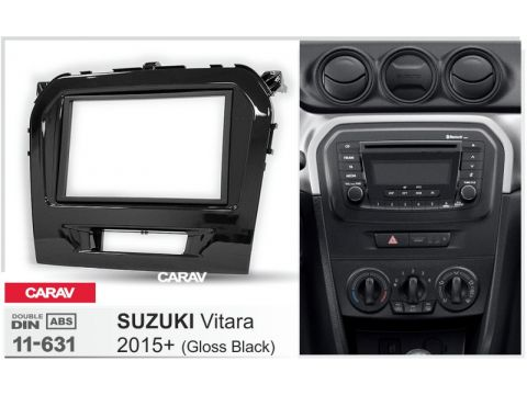 Рамка переходная Carav 11-631 Suzuki Vitara 2015+ (piano black) Киев
