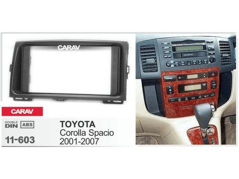 Рамка переходная Carav 11-603 Toyota Corolla Spacio 2001-2007 Киев