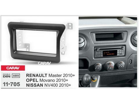 Рамка переходная Carav 11-705 Renault Master III /Nissan NV400 (X62)/Opel Movano B (X62) 02/2010+ Киев