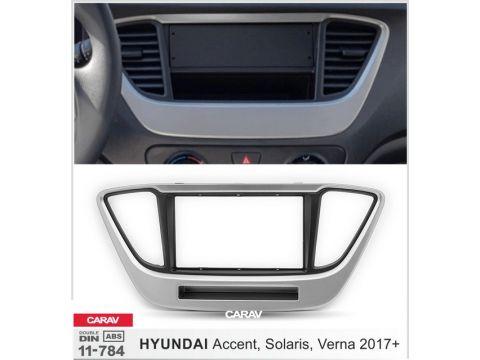 Рамка переходная Carav 11-784 Hyundai Accent, Solaris, Verna 2017+ Киев