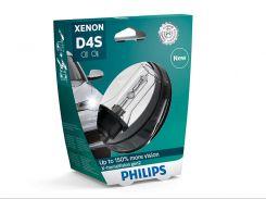 Ксеноновая лампа Philips D4S X-tremeVision gen2 35W (42402XV2S1) (1pcs blister)