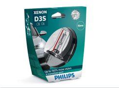 Ксеноновая лампа Philips D3S X-tremeVision +150% gen2 35W (42403XV2S1) (1pcs blister)