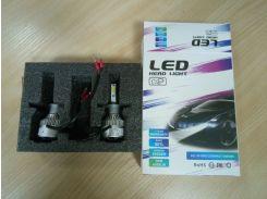 Светодиодная лампа RCJ H1 Q2-COB 4000Lm 6000K (пара)