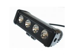 Фара светодиодная AllLight D-40W 4chip CREE spot 9-30V нижний крепеж