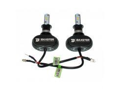 Светодиодные лампы Baxster S1 H3 6000K 4000Lm (пара)