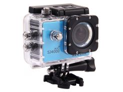 Экшн-камера SJCAM SJ4000 Wi-Fi Blue
