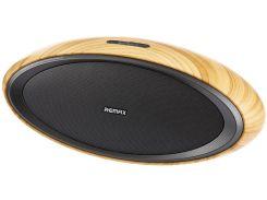 Портативная акустика Remax RB-H7 Portable Speaker Brown