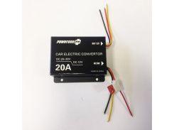 Инвертор PowerOne Plus (24V-12V) 20A