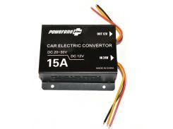 Инвертор PowerOne Plus (24V-12V) 15A