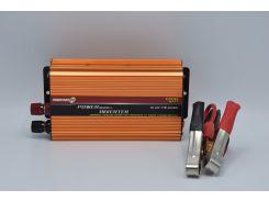 Инвертор PowerOne Plus 24V-220V 1000W + USB (SST-1000A)